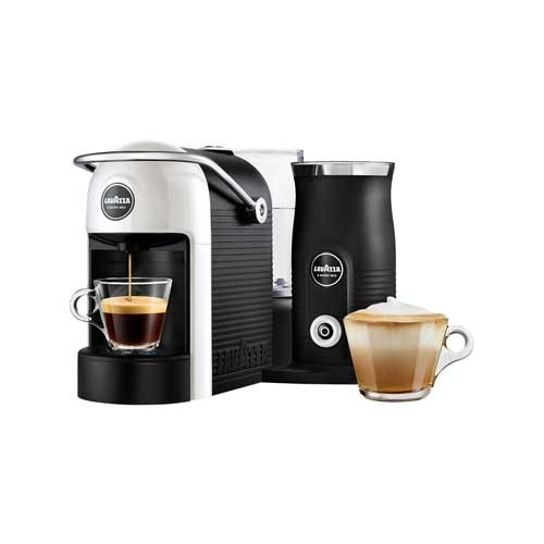 Lavazza Jolie Plus Coffee Machine and Milk Frother in White 18000230