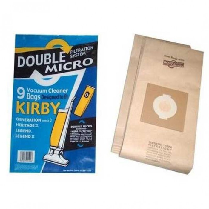 Kirby Vacuum Cleaner Bags Sdb500 Made By Qualtex Vacuum Genie