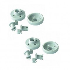 Bosch Dishwasher Lower Basket Wheels 4 Pack 066320