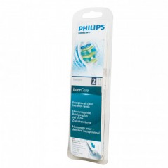 Philips Toothbrush Head Set InterCare standard brush heads. 2 pieces HX9002/10