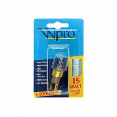 Wpro T-Click Fridge Lamp Bulb 15 Watts  41-PS-02 Made by Whirlpool