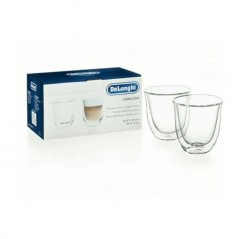 DeLonghi Cappuccino Thermo Glasses 2 Pack 5513214601