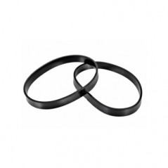 Oreck XL Vacuum Cleaner Belt 2 Pack PPP132 (BLT6109). Made by Qualtex