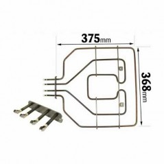 Bosch Oven Upper Heating Grill Element ELE2126