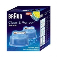 Braun Clean & Renew Refill Cartridges 2 Pack CCR2-99268838