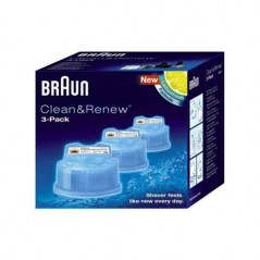 Braun Clean & Renew Refill Cartridges 3 Pack CCR3-99268837