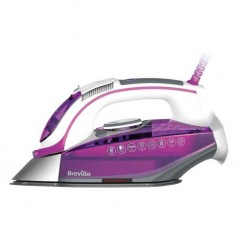 Breville Press Xpress Ceramic Soleplate Steam Iron VIN339