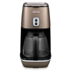 Delonghi Distinta Coffee Maker in Matt Bronze ICMI211.BZ
