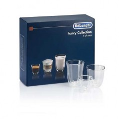 Delonghi Fancy Collection Coffee Glasses Set DLSC302