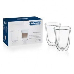 Delonghi Latte Macchiato Coffee Glasses 2 Pack 5513214611