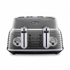 Delonghi Scultura Toaster 4 Slice in Grey CTZ4003.GY
