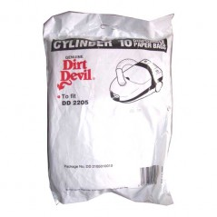Dirt Devil DD 2205 Vacuum Bags 2105010010