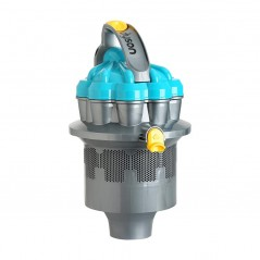 Dyson DC08 Top Cyclone Steel Turquoise Yellow 905411-30