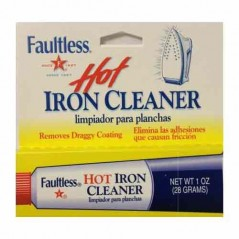Faultless Hot Iron Soleplate Cleaner
