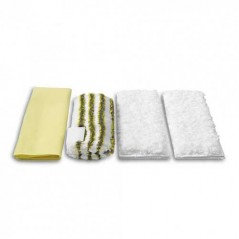 Karcher Microfibre Cloths for Bathrooms 4 Packs 2.863-171.0