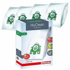 Miele U Hyclean 3D Efficiency Vacuum Bags - 8 Pack 07282050