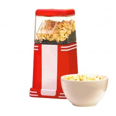 Retro Style Popcorn Maker in Red HT210