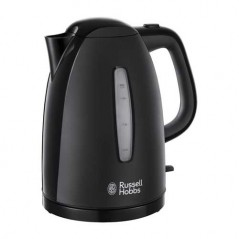 Russell Hobbs Textures Kettle 1.7L in Black 21271