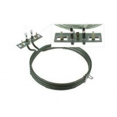 Universal Short Neck Fan Oven Element ELE2111 Made by Qualtex