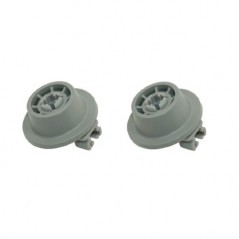 Bosch Dishwasher Basket Wheels 2 Pack 1801311